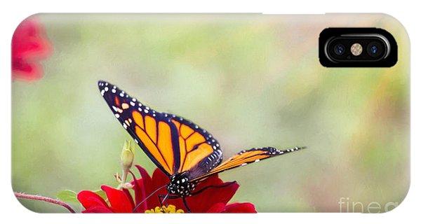 Monarch Magic IPhone Case