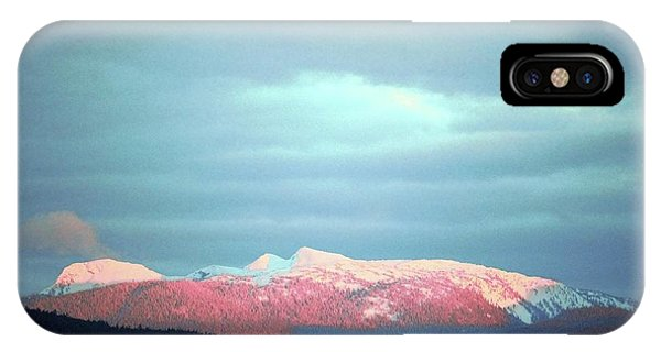 Monashee Sunset IPhone Case