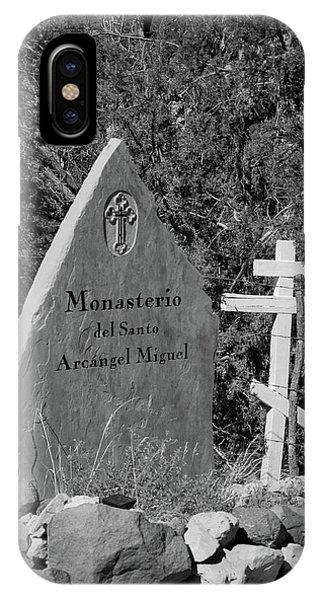 Monasterio Del Santo Arcangel Miguel IPhone Case