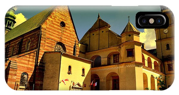 Monastery In The Wachock/poland IPhone Case