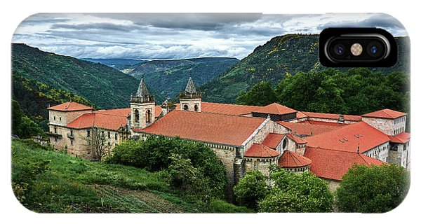 Monastery Of Santo Estevo De Ribas Del Sil IPhone Case