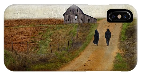 Amish iPhone Case - Monday Evening by AJ Yoder