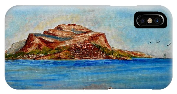 Monemvasia IPhone Case