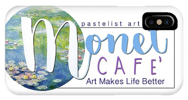 Monet Cafe' Products IPhone Case