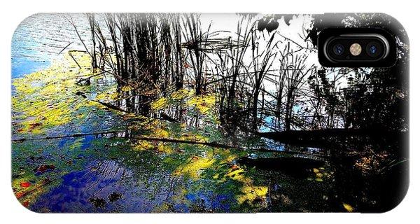 Monet Ice Age Pond IPhone Case