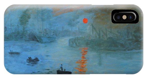 Monet Sunrise By Dg IPhone Case