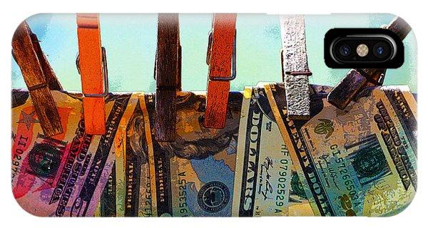Money Laundering  IPhone Case