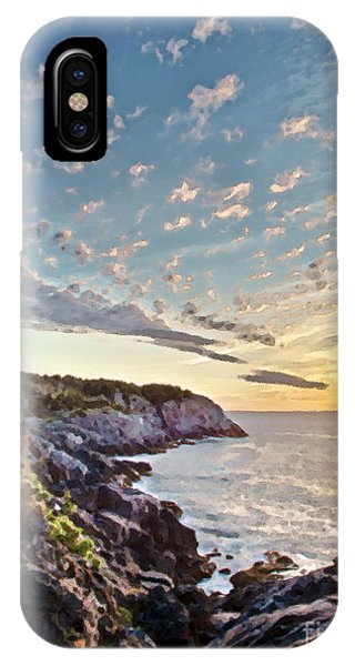 Monhegan East Shore IPhone Case
