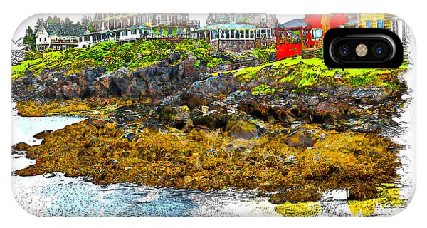Monhegan West Shore IPhone Case