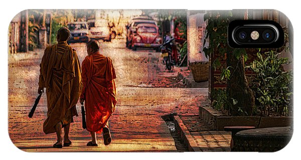 Monk Mates IPhone Case
