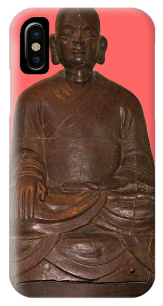 Monk Seated IPhone Case