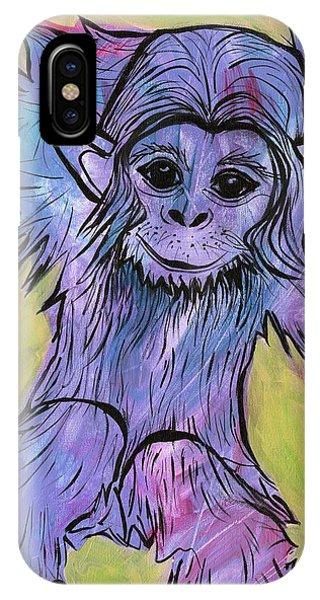 Monkey Mischief IPhone Case
