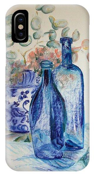 Monnaie Bleue Phone Case by Muriel Dolemieux