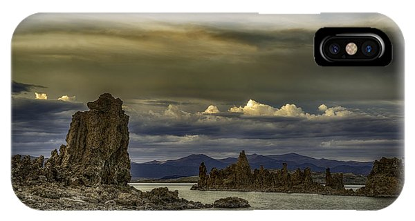 Mono Lake, Fall Sunset IPhone Case