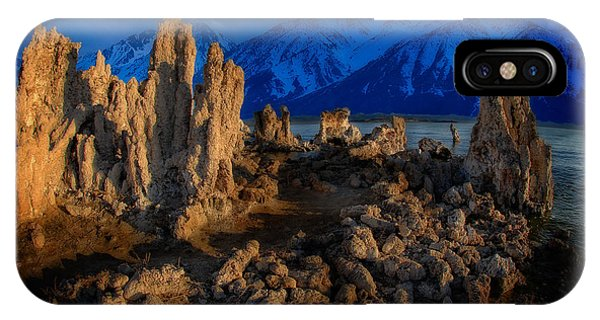 IPhone Case featuring the photograph Mono Lake by Harry Spitz