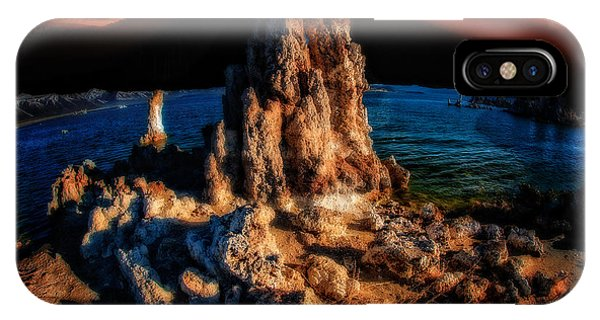 IPhone Case featuring the photograph Mono Lake Sunset by Harry Spitz