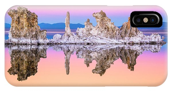 Mono Lake Tufa At Dusk IPhone Case