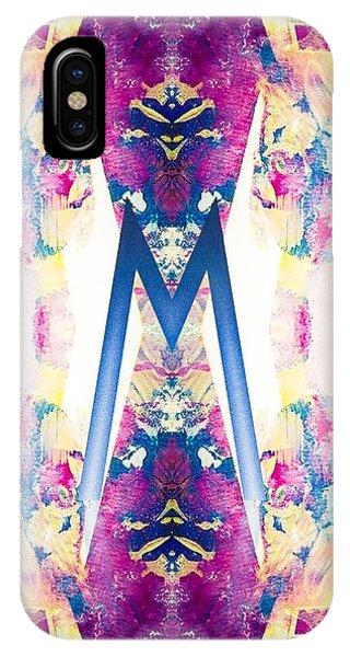 Monogram M - 0 - 8 IPhone Case