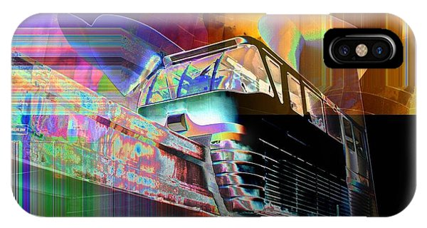 Monorail And Emp IPhone Case