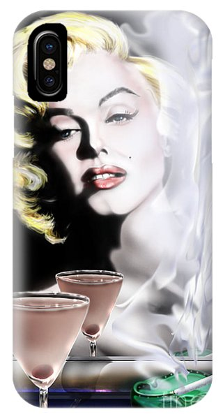Monroe-seeing Beyond Smoke-n-mirrors IPhone Case