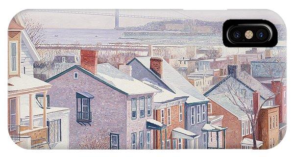 Neighborhood iPhone Case - Monroe St Staten Island by Anthony Butera