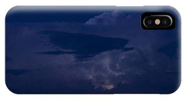 Monsoon Cloud And Lightening 20 IPhone Case