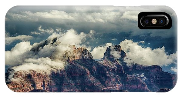 Monsoon Clouds Grand Canyon IPhone Case