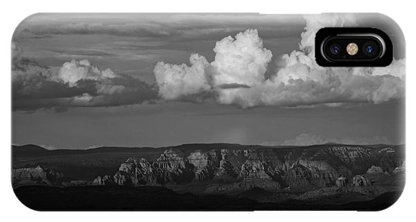 Monsoon Clouds Over Sedona IPhone Case