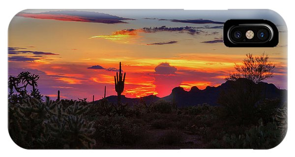 Monsoon Sunset IPhone Case