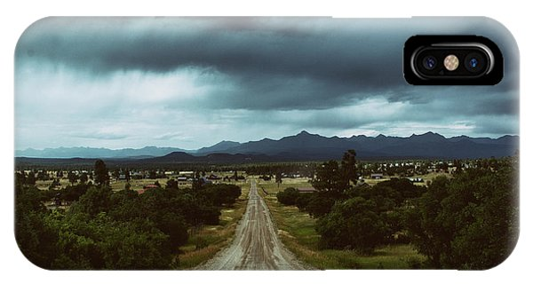 Monsoons From The Meadows IPhone Case