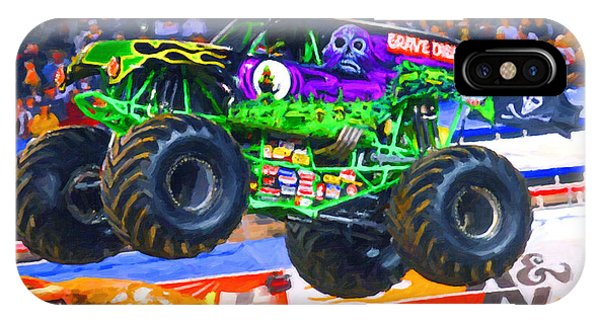 Monster Jam Grave Digger IPhone Case