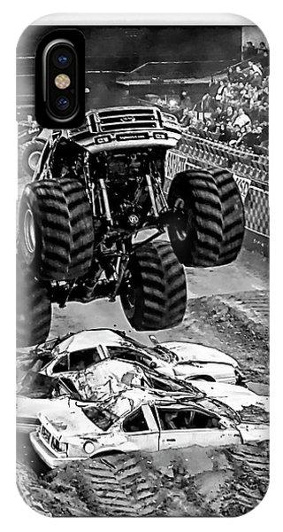 Monster Truck 2b IPhone Case