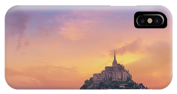 Mont-saint-michel At Dawn IPhone Case