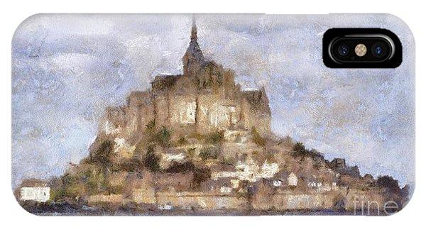 Normandy iPhone Case - Mont Saint-michel, Normandy, France by Sarah Kirk