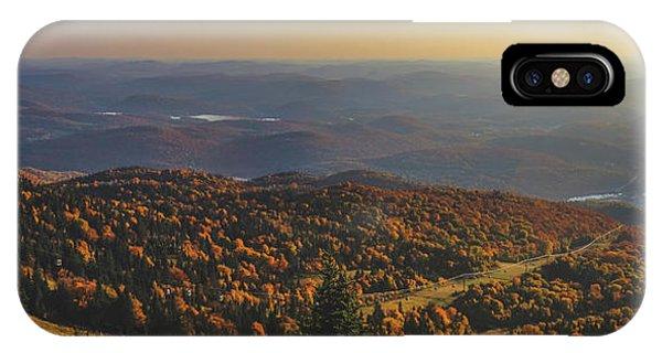 Mont Tremblant Summit Panorama IPhone Case