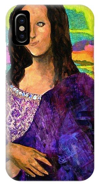 Montage Mona Lisa IPhone Case