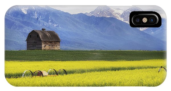 Montana Barn IPhone Case