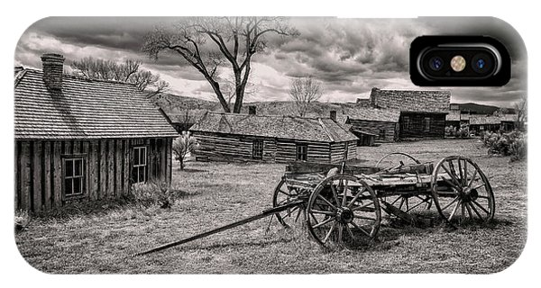 IPhone Case featuring the photograph Montana Ghost Town by Scott Read