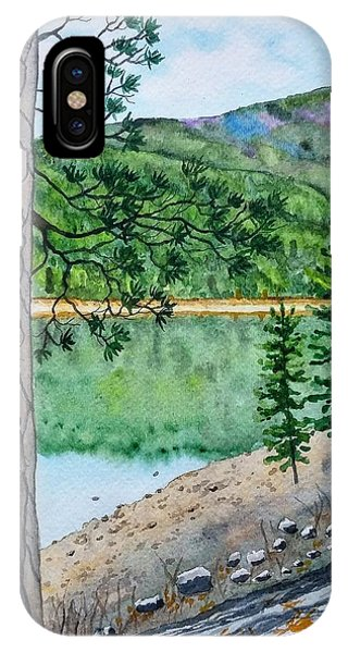 Montana - Lake Como IPhone Case