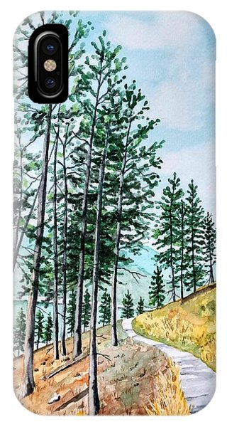 Montana Lake Como Trail IPhone Case