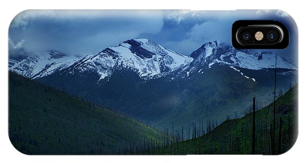 Montana Mountain Vista #2 IPhone Case
