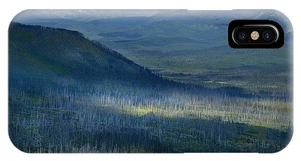 Montana Mountain Vista #3 IPhone Case