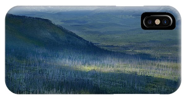 Montana Mountain Vista #3 IPhone Case