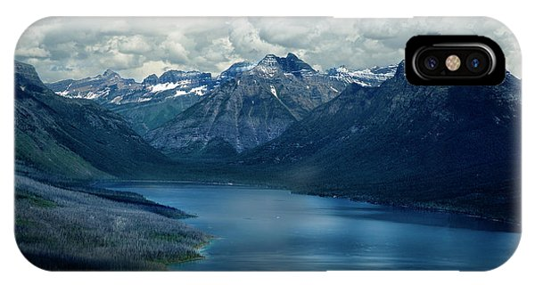 Montana Mountain Vista And Lake IPhone Case