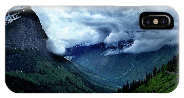 Montana Mountain Vista IPhone Case