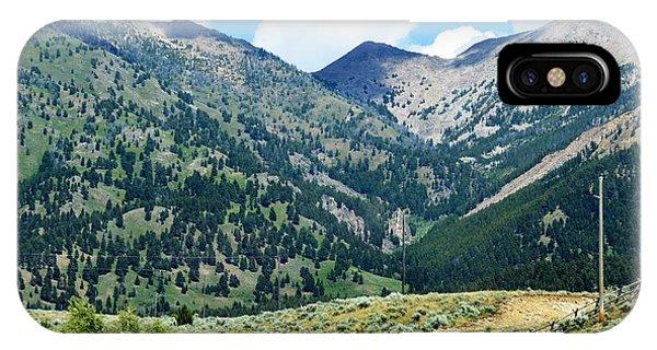 Montana Mountains IPhone Case