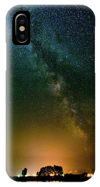 Montana Night IPhone Case