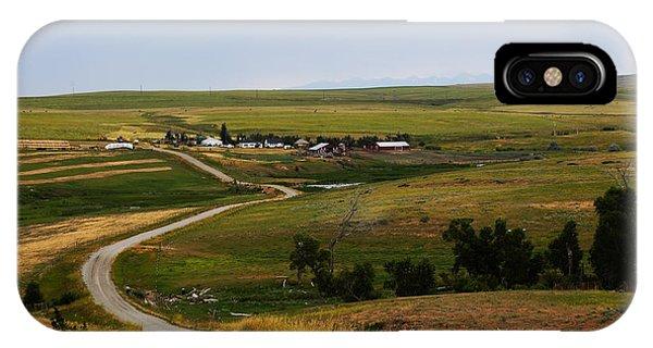 Montana Ranch 3 IPhone Case
