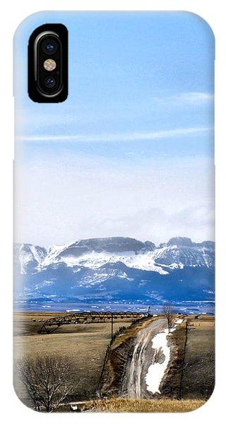 Montana Scenery One IPhone Case