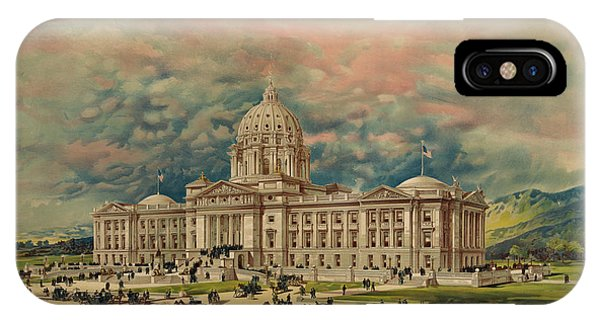 Capitol iPhone Case - Montana State Capitol by 19th Century